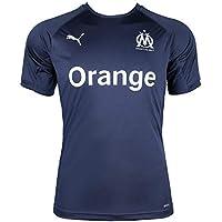 Puma Olympique de Marseille Pro Shirt with Sponsor Logo Maillot Homme