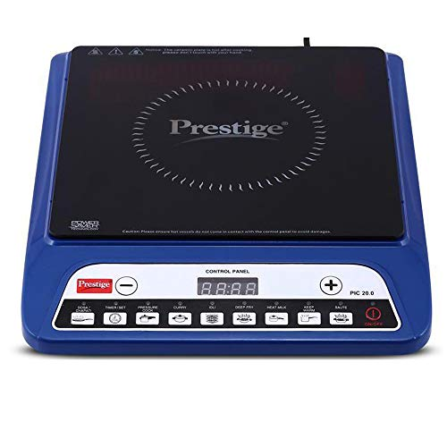 Prestige PIC 20 1200 Watt Induction Cooktop with Push Button (Blue)