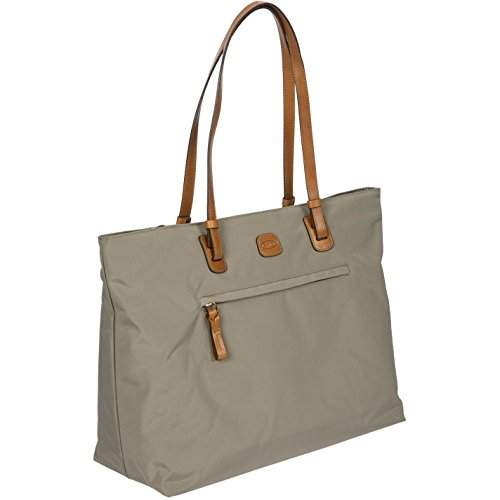 Brics X-Travel Shopper Borsa tote 39 cm scomparto Laptop taupe, grau