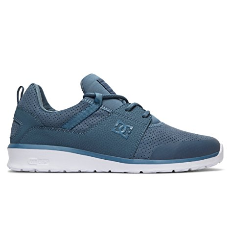 DC Shoes Herren Heathrow Sneaker, Blau (Blue Ashes/White 4aw), 43 EU (Shoes Sneakers Dc Athletic)