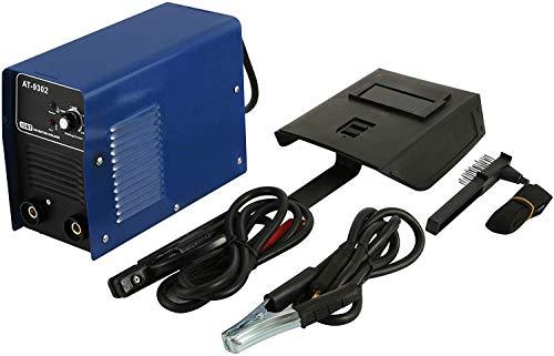 ZGYQGOO DC 200A MMA ARC Inverter Schweißgerät AT-9302 20A bis 200A Kompaktelektroden-Schweißgerät 4,5 mm mit Tragegriff (AT-9302)