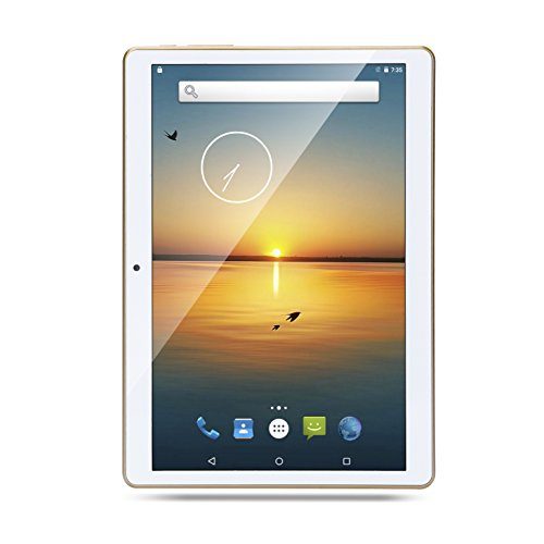 9.7 Zoll Tablet PC Octa Core 2560X1600 IPS Bluetooth RAM 4GB ROM 64GB 8.0MP 3G Dual sim card Phone Call Tablets PC Android 5.1 Lollipop GPS 10-White (Photo High Resolution Ultra)