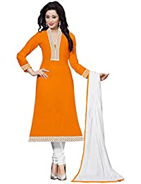 Hari Om Present Summer collection Cotton Dress Material For Woman's (DRESS_TP Dress Material_Free Size)