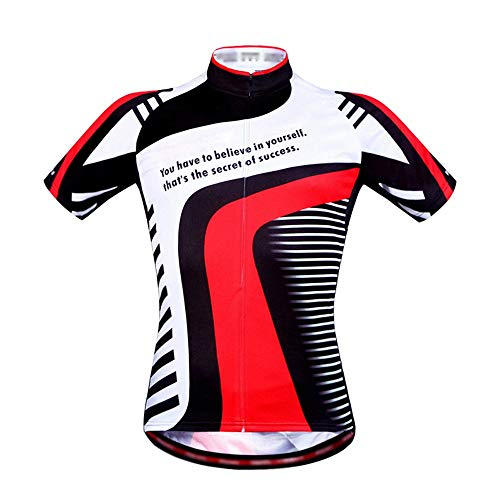 Tops ciclismo Jersey ciclismo manga corta poliéster
