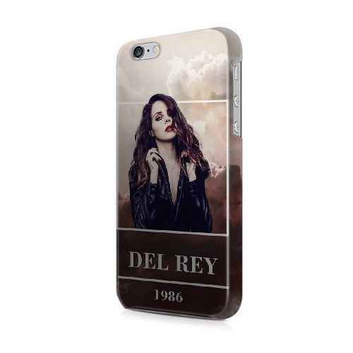 COUTUM iPhone 5/5s/SE Coque [GJJFHAGJ73707][LILO AND STITCH THÈME] Plastique dur Snap-On 3D Coque pour iPhone 5/5s/SE LANA DEL REY 1986 TRIPPY CLOUDS - 017