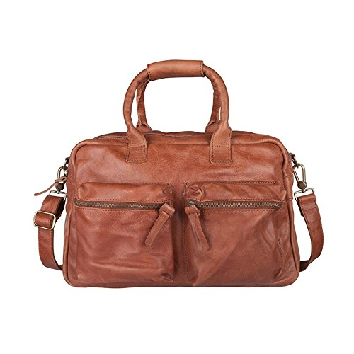 Cowboysbag 1030 Unisex-Erwachsene Henkeltaschen 42x27x15 cm (B x H x T) Cognac (Braun)