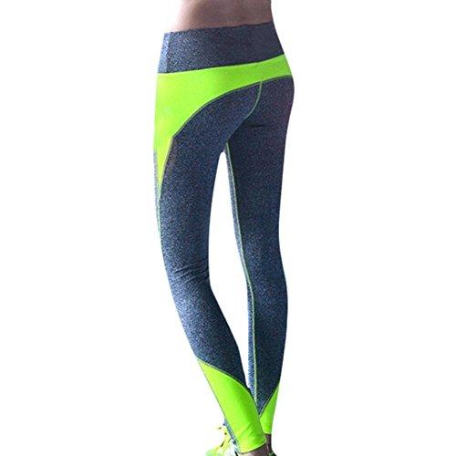 WIDEN Damen Sport Yoga Kleidung Leggings Hose Kleid (Yoga-baby-kleidung)