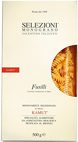 Selezioni Monograno Kamut Bio-Fusilli (Spiralnudeln), 500g