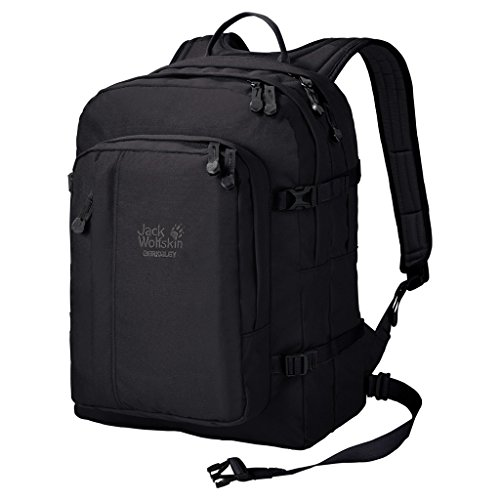 Jack Wolfskin Unisex Berkeley Bookpack Daypack Rucksack, Black, 45x37x3 cm Fashion Dress Forms