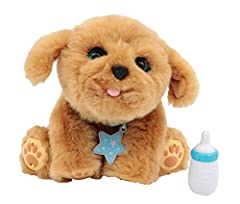 Idea Regalo - Giochi Preziosi Live Pets Very Love Peluche Interattivo con Accessori