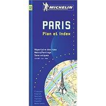 Paris, Plan et Index (Michelin Maps)