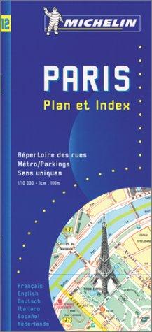 Paris Plan. Répertoire des rues, 1/10 000