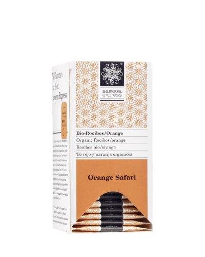 Samova Orange Safari Express - Bio-Rooibos (20 Beutel  1,1g), 1er Pack (1 x 22 g)