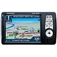 Navman ICN-520 - GPS Navigation System - with UK & European Maps