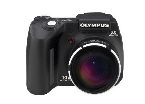 Olympus SP-500UZ Digitalkamera (6 Megapixel, 10fach opt. Zoom) schwarz