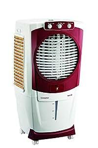 Crompton Greaves Aura Woodwool 55-Litre Desert Cooler (White/Maroon)