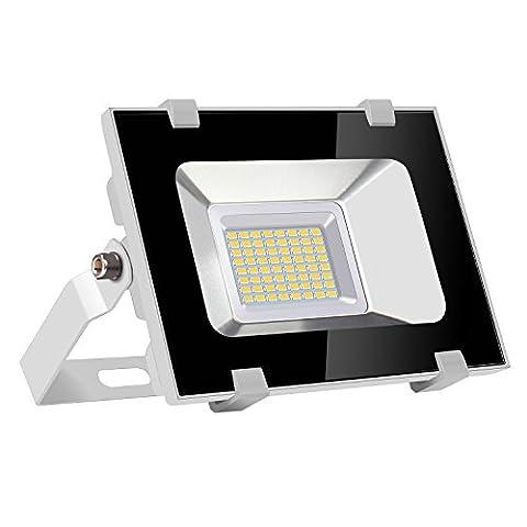 Viugreum® 30W LED Außenbeleuchtung, Scheinwerfer, Verdünner und Feuerzeug Design, Wasserdicht