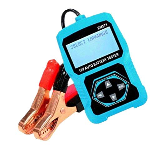 ZGYQGOO Tester Batteria Auto Digitale, Tester Batteria Auto Digitale, Tester Batteria Auto, Rilevatore Batteria Auto 12V, Tester Batteria Auto Moto/Batt