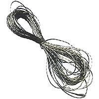 FITYLE Rosca Conductora Hilo de Rosca de Acero Inoxidable 0.4mm para Lilypad, resistencia de hilado, peso: 0.15kg