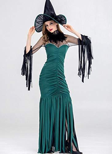 Shisky Cosplay kostüm Damen, Halloween-Hexe Kostüm Dessous Kleid Prom Thema Party ()