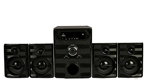 Flow Galaxy2 Bluetooth 4.1 Multimedia Speaker System Full Packed (Black)