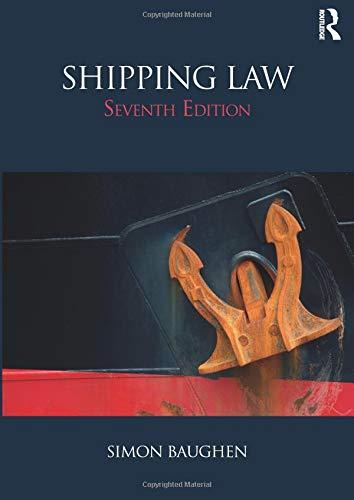 Shipping Law por Simon Baughen