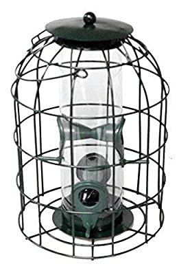 Natures Market BF008S Squirrel Guard Hanging Seed Feeder Wild Bird Garden Feeding Station - Multi Deals Available from Bonnington Plastics