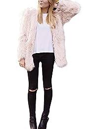 Coversolate Niñas chaleco sin mangas abrigo chaqueta chaleco de pelo largo chaleco