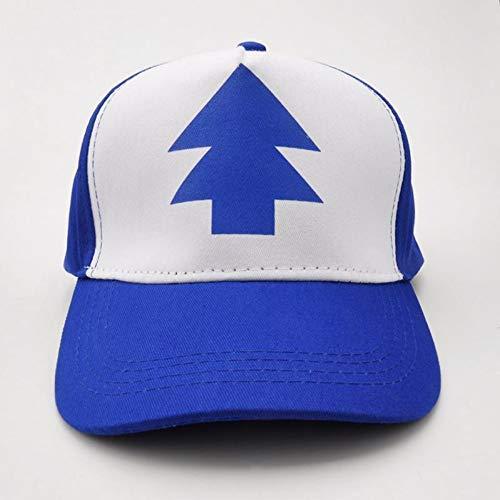 YSYNCAP Cap Baseballmütze Gravity Falls Mütze Einstellbare Trucker Caps Curved Bill Dipper Eltern-Kind-Baseball-Mütze, Tuch Cap Fall