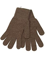 Braun handschuhe für Damen - Lovarzi Wolle Damenhandschuhe - Weich, warm Winterhandschuhe