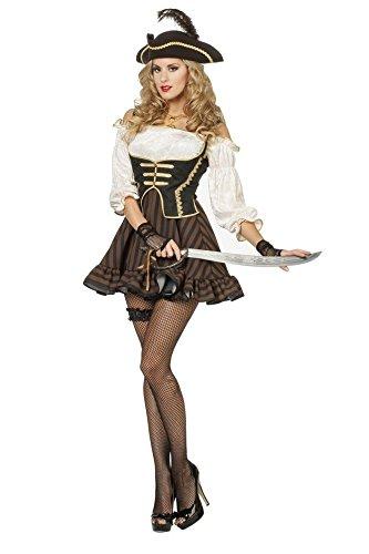 Wilbers Verruchte Piratin Damenkostüm - Verruchte Hexe Kostüm