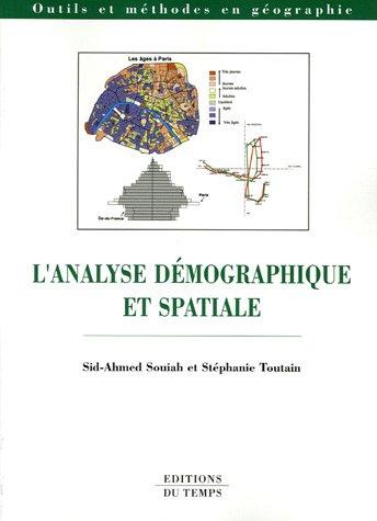 L'analyse démographique et spatiale