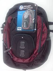 HP Premier Red Backpack H4R85AA