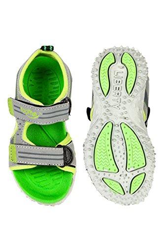 Footfun (from Liberty) Unisex Green Fashion Sandals - 9 Kids UK/India (27 EU) (8074030140270)