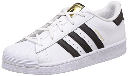adidas Superstar C, Zapatillas de Baloncesto Unisex Niños, Blanco (Ftwr White/Core Black/Ftwr...