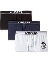 Diesel 0TANL, Bóxers Para Hombre, Pack de 3