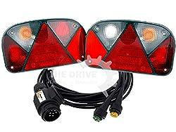 rot Lieferwagen 12 V // 24 V Anh/änger 10 NUZAMAS LED-Seitenmarkierungsleuchten wasserdicht 2 LED aus ABS-Kunststoff Positionsanzeige Anzug f/ür LKW LED-R/ückleuchten vorn IP65 Boote