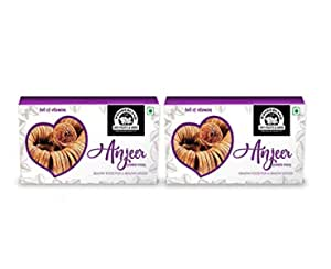 WONDERLAND FOODS (DEVICE) Anjeer(Dried Figs) 400g Pack of 2 (200g Each)