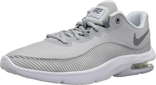 Nike Damen WMNS Air Max Advantage 2 Laufschuhe, Mehrfarbig (Wolf Cool Grey/Pure Platinum/White 010), 38.5 EU - Pure Advantage Air