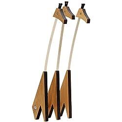 Hoptimist Diseño de Estampado de Jirafa Woddy tamaño Grande, Madera de Roble