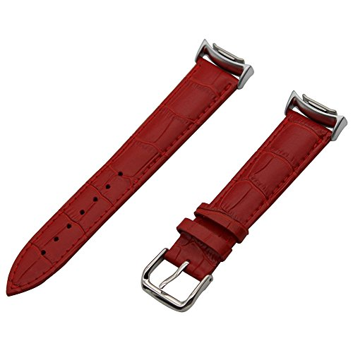 TRUMiRR Fascia del Cuoio Genuino Croco Grano Cinturino con Adattatori per Samsung Gear S2 SM-R720