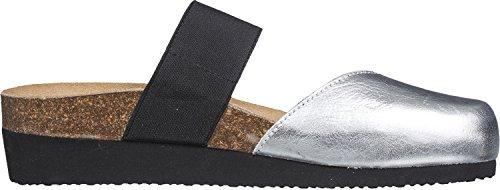 Giesswein Velletri, Chaussures de Claquettes femme Argent