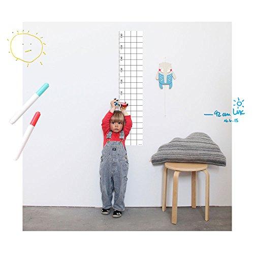 SNUG.GROW - Messlatten-Poster von Snug Studio