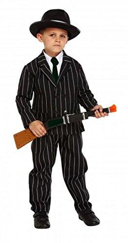 Gangster 1920 ist für Kinder Kostüm 7-9 Jahre