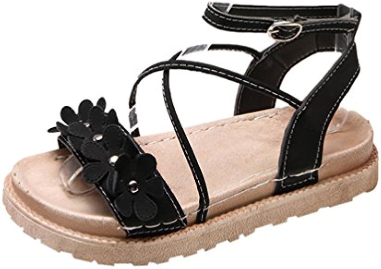 Xinwcanga Mujer Sandalias Plataforma Vendaje Punta Abierta Chanclas Zapatillas Zapato de Playa