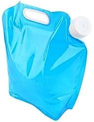 Fami 5L / 10L pliant Eau potable Container Storage Lifting Bag Pour Camping