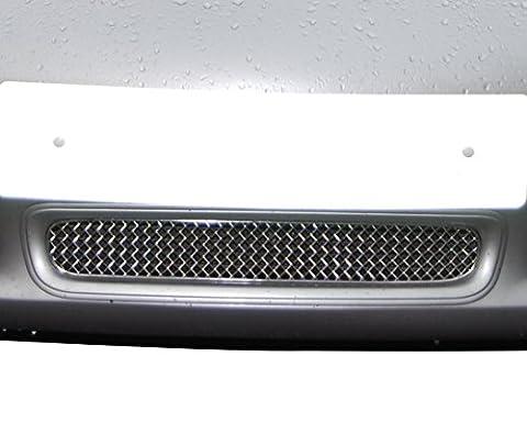 Porsche Boxster S 986 - Calandre centrale - Finition argent (1997 to 2004)