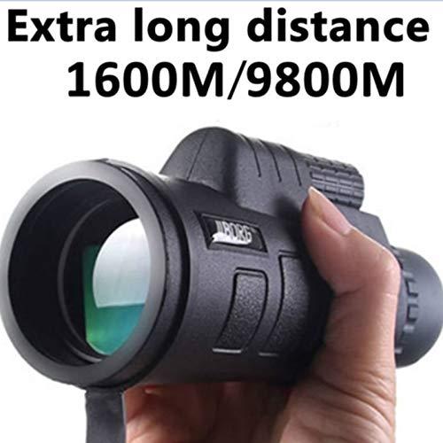 XuBa Professional High Power 40X 60HD Monokular Teleskop Shimmer Night Vision für Outdoor Wandern Professional Night Vision