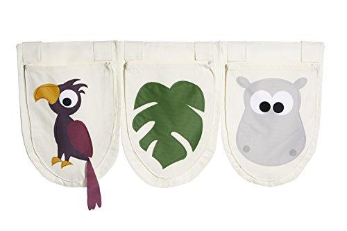Flexa Jungle Bett Taschen, Set 3(28x 40cm)