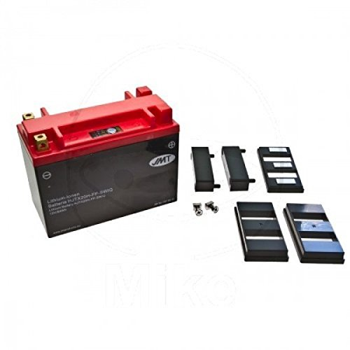 Preisvergleich Produktbild JMT LITHIUM-IONEN Motorrad Batterie 12 Volt HVT,  Y50N18L-A,  YB16L,  YB18L,  YTX20-BS,  YTX24HL-BS / LiFePO4 / HJTX20H-FP passend für CFMOTO CF 500 Atlas 4x2,  Bj. 2011-2012 [Preis ist inkl. Batteriepfand]